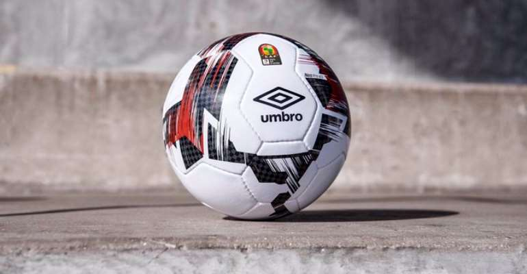 Caf And Umbro Unveils 2019 AFCON Match Ball