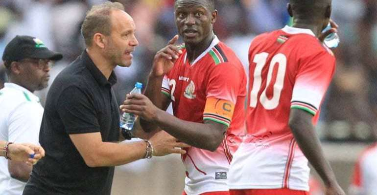 AFCON 2019: Migné names Kenya's' 27-Man Provisional Squad For Pre-AFCON Camp