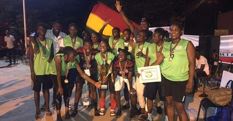 Ghana's Elwak Wings female team crowned champions of Sya International volleyball tournament