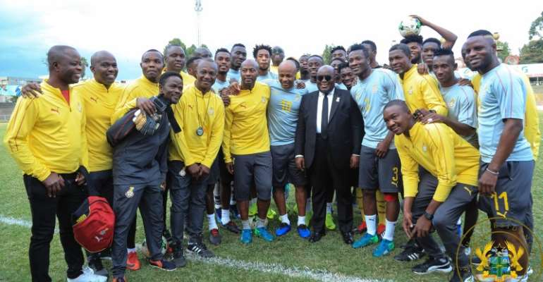 AFCON 2019: 'Prioritize Teamwork Over Individual Glory' - Prez. Akufo Addo Tells Black Stars Players