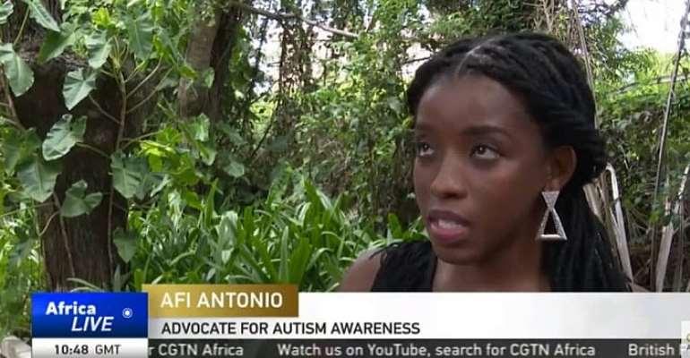 Ghanaian Autism Advocate, Afi Antonio Speaks with CGTN Africa