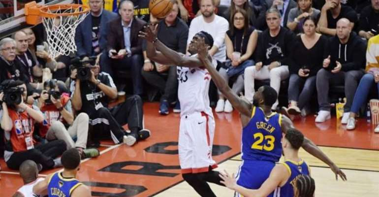Toronto Raptors Stun Golden State Warriors In First NBA Finals
