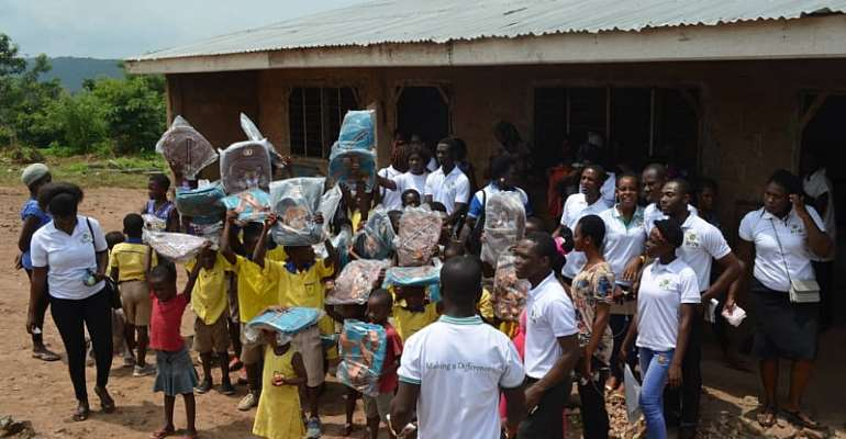 World Inspiring Network and Church of Pentecost greatly Impact Osunu Dompe Methodist Primary School.