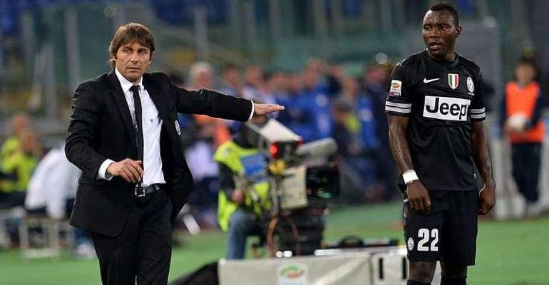 Kwadwo Asamoah Reunited Antonio Conte At Inter Milan