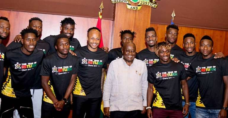 Akufo-Addo Bids Black Stars Farewell Ahead Of The 2019 AFCON