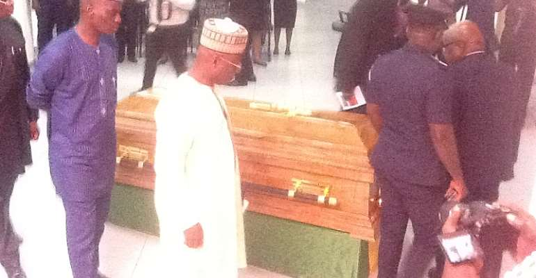 Parliament Holds Pre-Burial Service For Late NDC Dr Kwabena Adjei