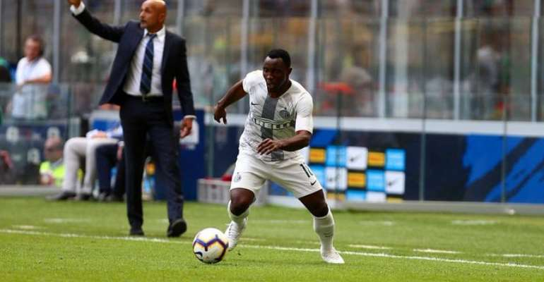 Kwadwo Asamoah Wishes Former Boss Luciano Spalleti Well In The Future