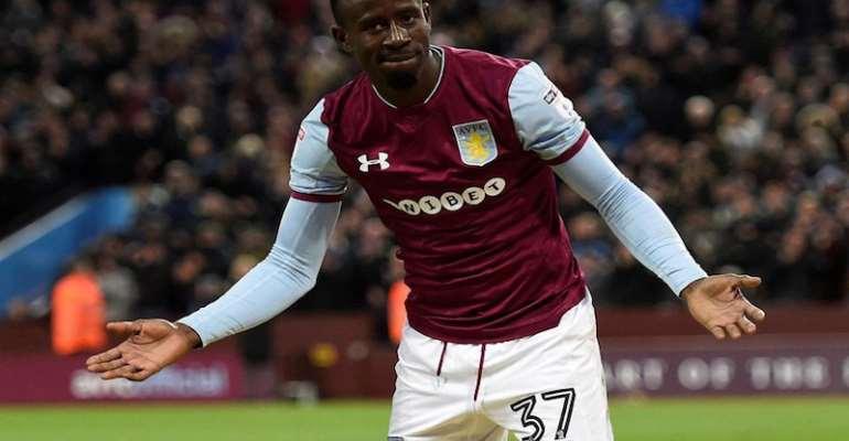Aston Villa Set To Show Ghana's Albert Adomah The Exit - Reports