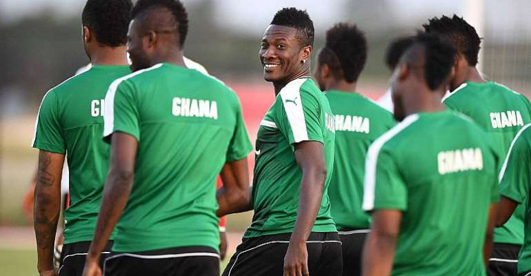 AFCON 2019: Asamoah Gyan Preaches Teamwork And Unity Ahead Of AFCON