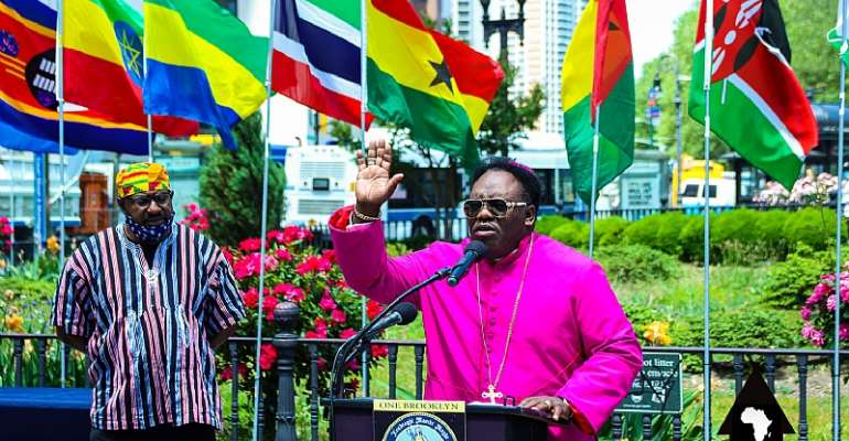 New York based Ghanaian Bishop Honored by the City Of Brooklyn