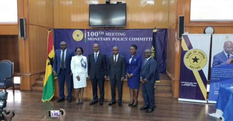 BoG cuts monetary policy rate to 13.5%