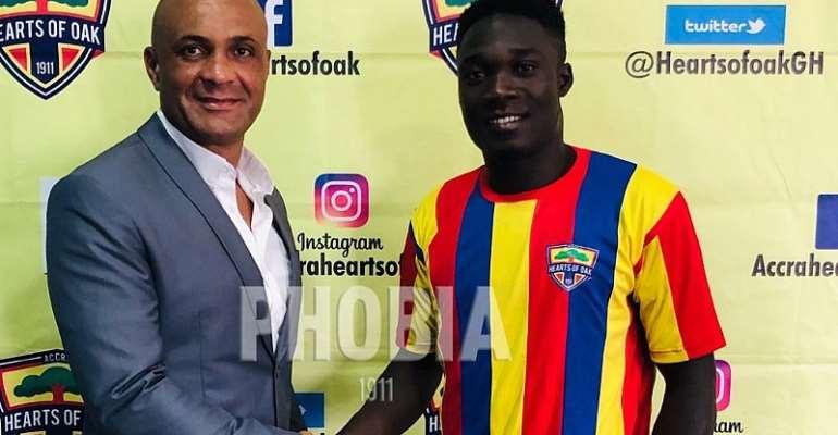 Karela Win Case Against Hearts; Dominic Eshun Set To Return To Old Club