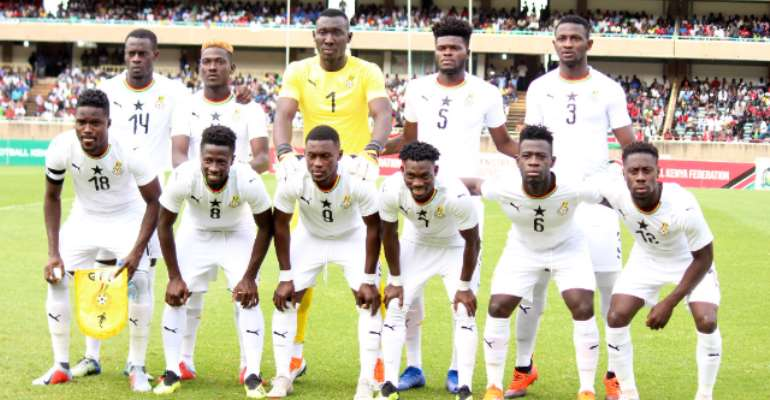 Black Stars To Play South Africa In A Friendly In Dubai Ahead Of AFCON