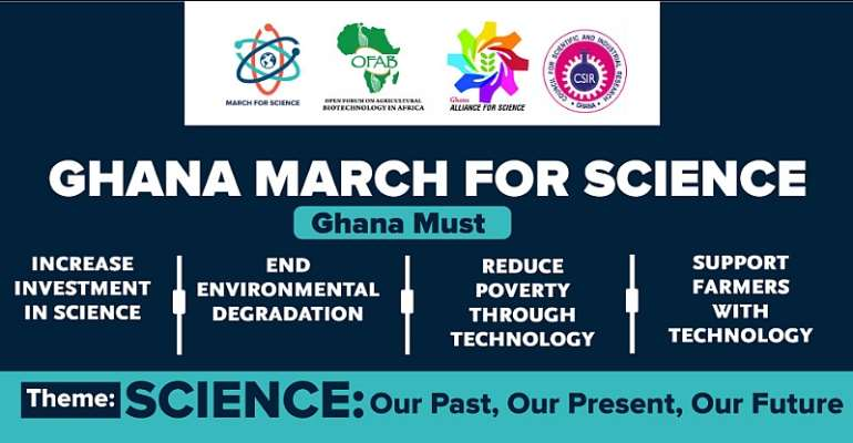 Press Statement On Ghana March For Science 2019