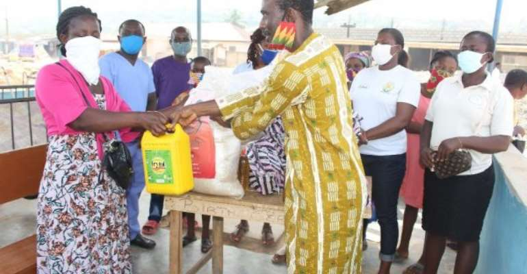 Covid-19: Basic Needs, CSOs Donates To Mentally Ill Persons In Accra
