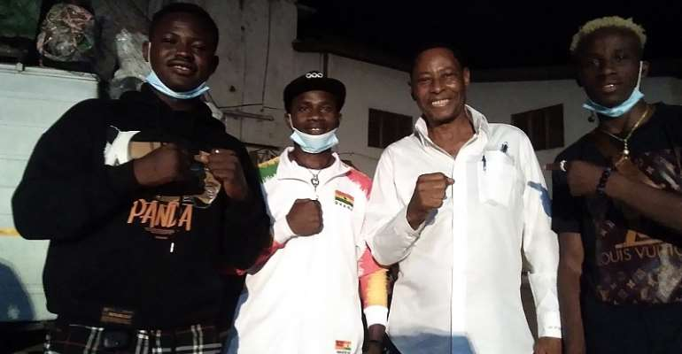 Dr. Manly-Spain inspires Black Bombers, promises to build Boxing Academy