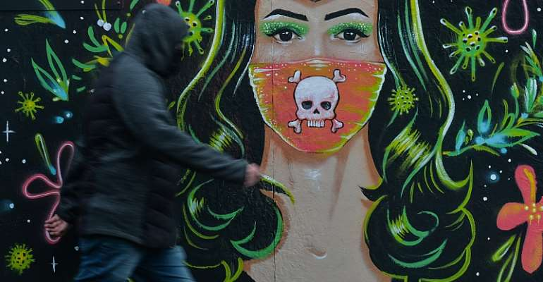 Mural by Gabriel Marques, Dublin - Source: Artur Widak/NurPhoto via Getty Images