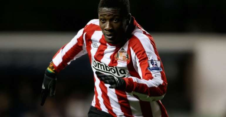 Asamoah Gyan Reveals Plans To Aid Former Side Sunderland To Return To Their Best