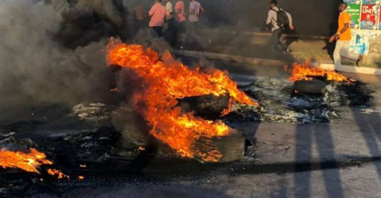 Cop Burnt To Death