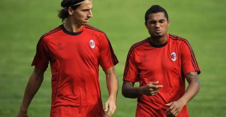 Ibrahimovic Is The Most Ambitious Footballer I Have Ever Met - KP Boateng Reveals