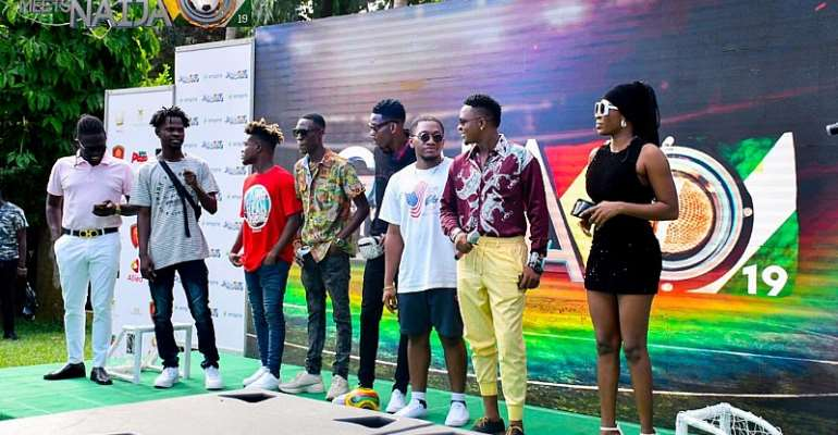 Artistes For 2019 Ghana Meets Naija Unvield
