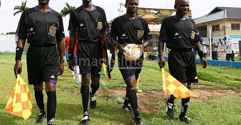 WAFA's George Ofosuhene Calls On Referees To Improve