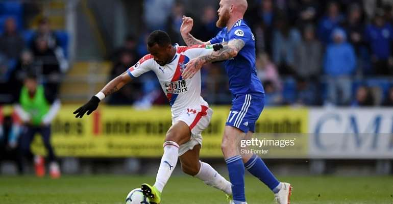Jordan Ayew Provide Assist As Crystal Palace Sends Cardiff City To Relegation