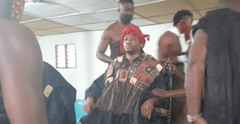 New Paramount Chief For Akuapem Installed