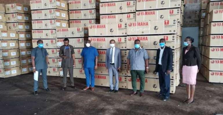 CODA Receives 1,300 Outboard Motors