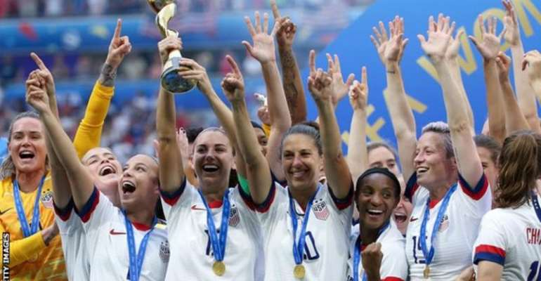 The USA won their fourth women's World Cup last summer