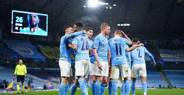 Mahrez scores twice as Man City beat PSG to book Champions League finals