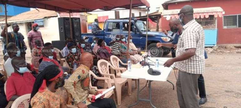 Police halt press confab of group protesting encroachment of cemetery lands
