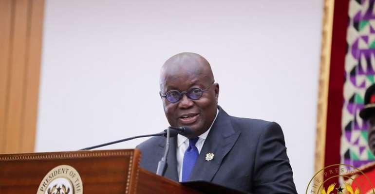 I'm satisfied with govt's anti-corruption fight – Akufo-Addo