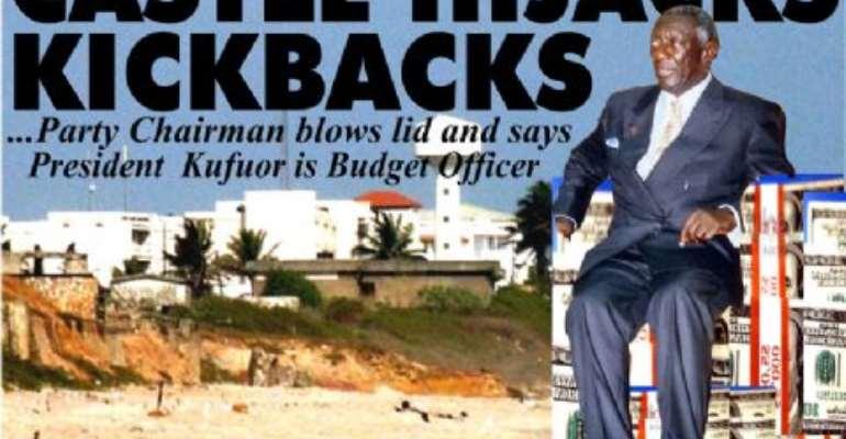 Presidency denies taking kickbacks