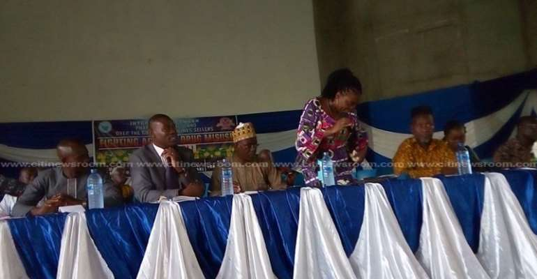 Ashanti Region Chemical Dealers Vow To Stop TRAMADOL