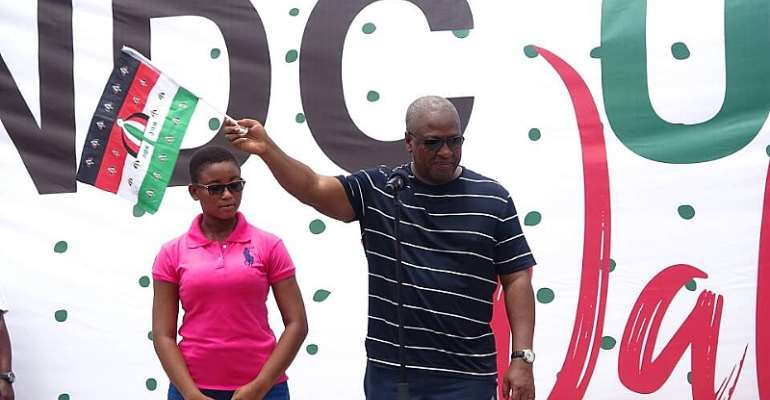 Gov't Officials Can't Take Criticism – Mahama