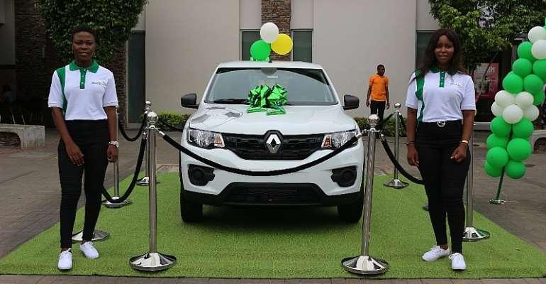 SOCCABET PROMO: Nungua Man Wins Second Car