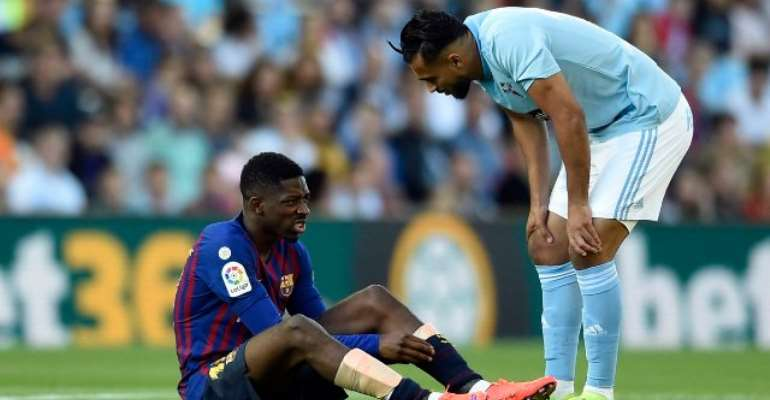 Makeshift Barca Side Beaten At Celta And Lose Dembele To Injury