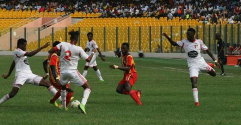Special Competition: Hearts Whips WAFA, Medeama Remain Top of Zone A