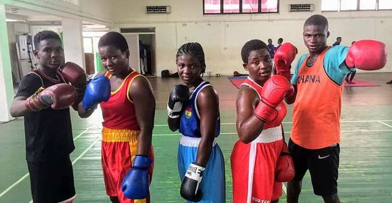 Female Amateur Boxers Join Security Services To Secure Their Future
