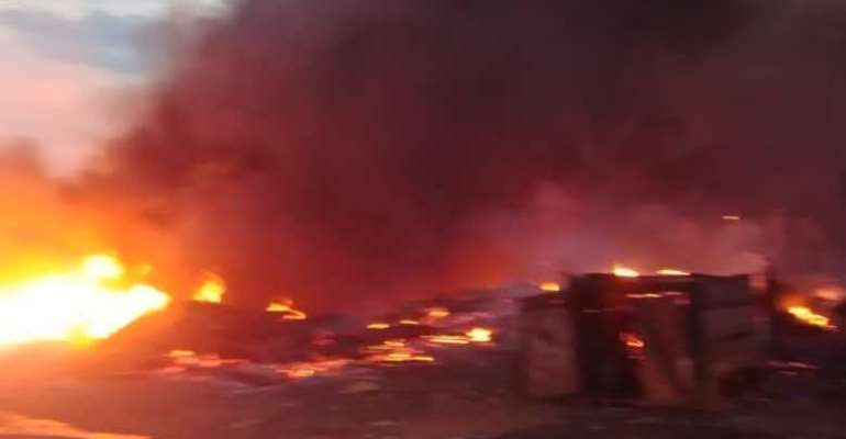 Komenda: 76-year-old woman burnt to death in fire outbreak