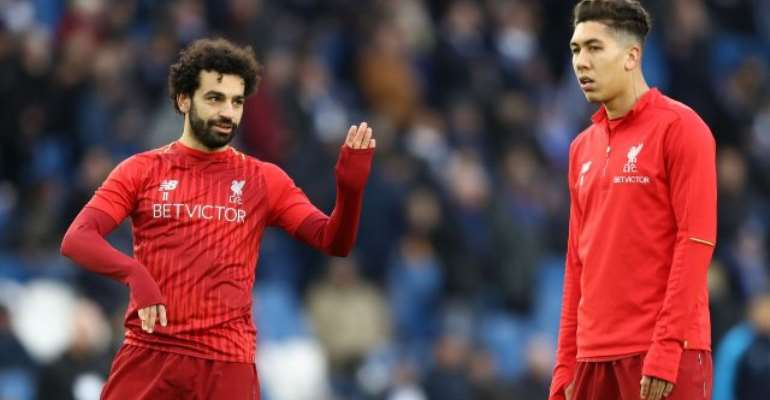Liverpool's Salah, Firmino Ruled Out Of Barcelona Game