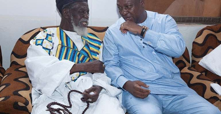 Ramadan Is A Month Of Peace And Love - Mahama To Muslims