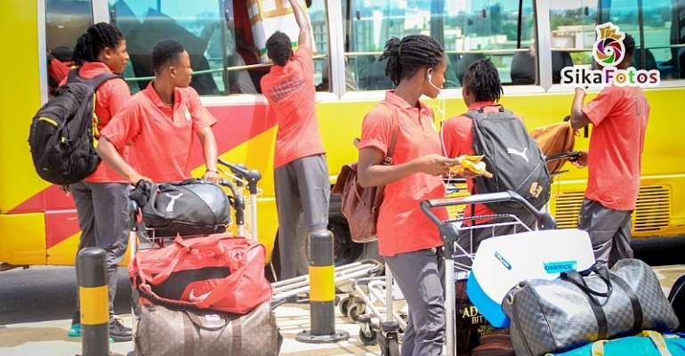 2019 Women's WAFU: Black Queens Leaves For Abidjan To Defend  Title [PHOTOS]