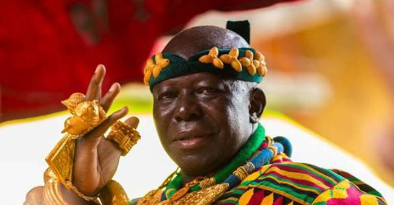 Nana, Mahama Wishes Otumfuo Well As He Clocks 70 Today