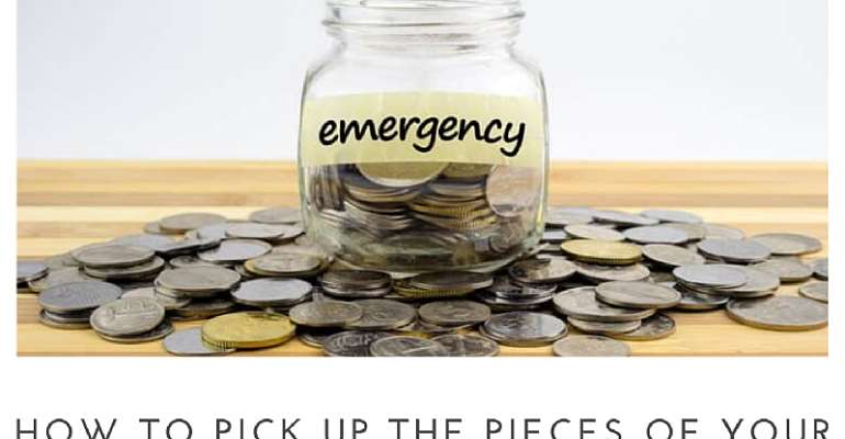 How To Pick Up The Pieces Of Your Finances: Emergency Fund