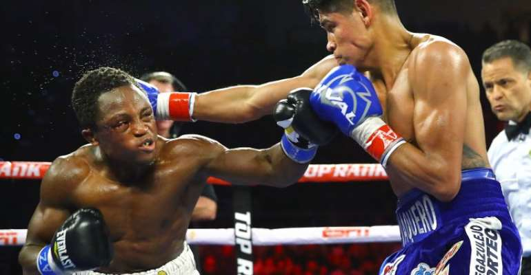 Isaac Dogboe Debunks Consulting 'Juju' Before Rematch With Navarrete [VIDEO]