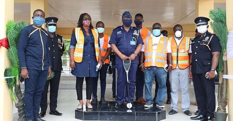 Police Partners Zoomlion To Disinfect & Fumigate Police Facilities Across The Country