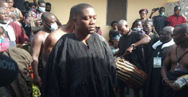 Breach Of Social Distancing: Akuapim North Chiefs Fined GH¢48,576