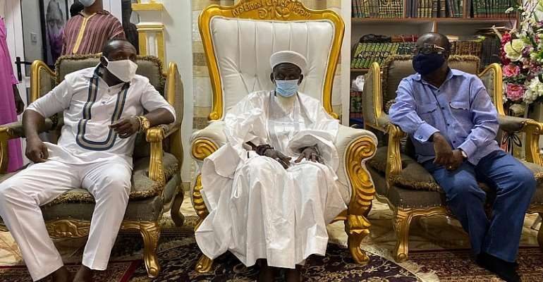 NPP Goes To National Chief Imam For Special Prayers